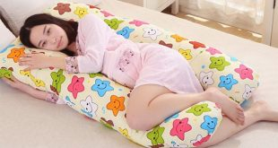 Gối ngủ hình chữ U là tốt nhất cho mẹ bầu
