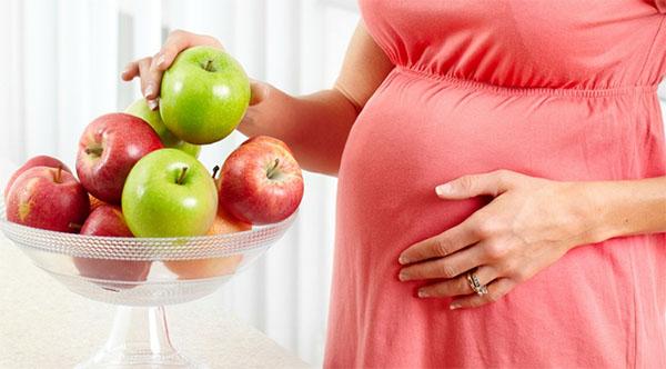 Quả táo tốt cho bà bầu