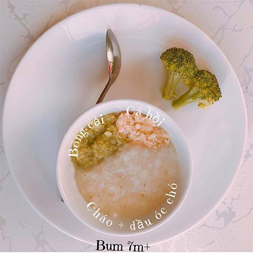 Thực đơn ăn dặm BLW kết hợp kiểu Nhật cho bé 7 tháng tuổi 3