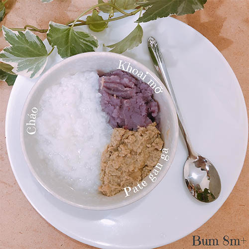 Thực đơn 24 cho bé ăn dặm BLW kết hợp kiểu Nhật