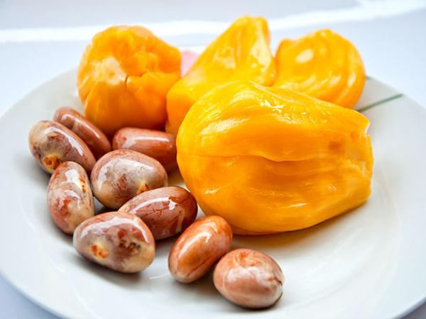 Mẹ bầu có thể ăn cả múi mít và hạt mít