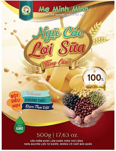 Bột ngũ cốc lợi sữa Mẹ Minh Minh