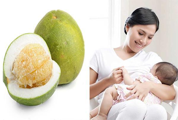 Bưởi có tác dụng cầm máu, giảm cân đặc biệt tốt cho phụ nữ sau sinh