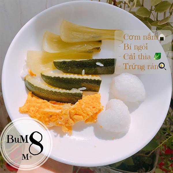 Thực đơn ăn dặm BLW cho bé 8 tháng tuổi (8)