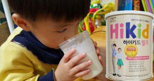 Hướng dẫn pha sữa Hikid Hàn Quốc đúng cách