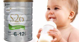 Hướng dẫn cách pha sữa S26 Úc