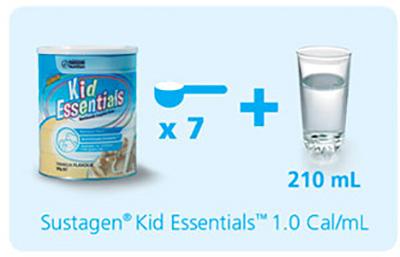 Công thức pha sữa Kid Essentials đúng chuẩn