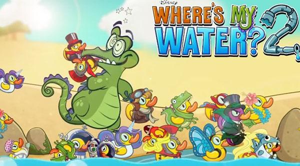 Trò chơi giải đố thú vị Where's My Water