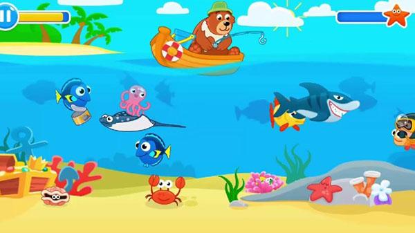 Game Câu cá cho trẻ em giúp rèn luyện khả năng tập trung và tư duy logic