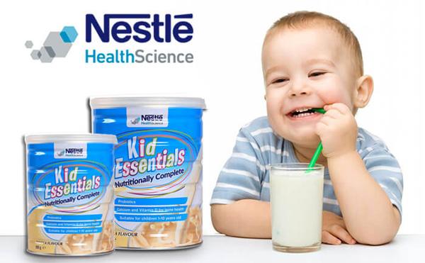 cách pha sữa kid essentials úc | Món Miền Trung