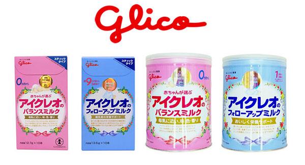 Sữa Glico Nhật Bản