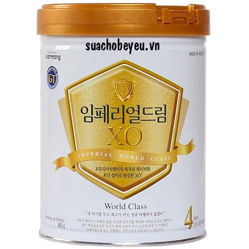 Sữa XO Hàn Quốc