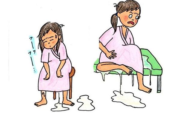 Dấu hiệu nhận biết mẹ bầu bị rỉ nước ối