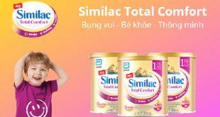 Sữa Similac Total Comfort của Abbott Hoa Kỳ cho bé có hệ tiêu hóa non kém