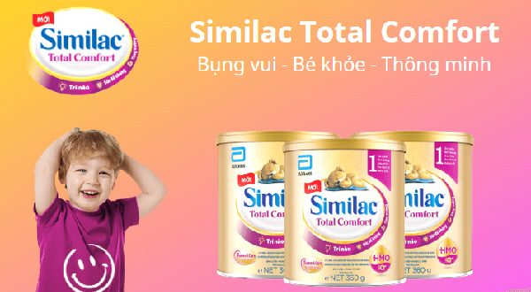 TOP 10 dòng sữa dành cho bé có hệ tiêu hóa kém tốt nhất hiện nay