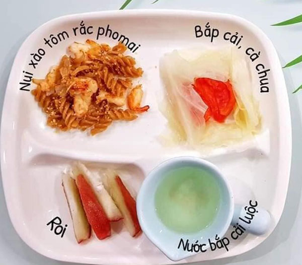 Thực đơn ăn dặm BLW kết hợp truyền thống 14