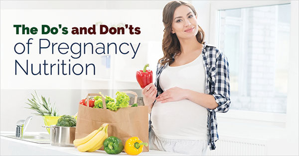Mới có thai nên và không nên ăn gì