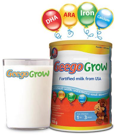 Sữa Geego Grow (cho bé 1-3 tuổi)