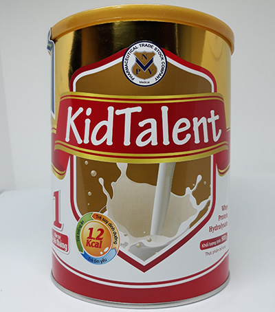 Sữa KidTalent số 1 cho bé 6-36 tháng tuổi