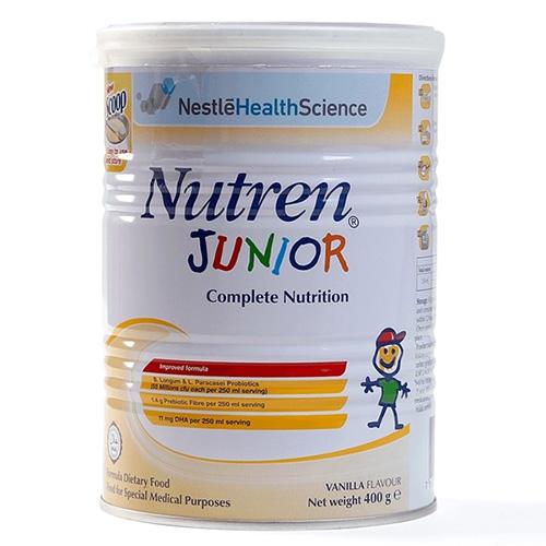 Sữa Nutren Junior cho bé 1 – 10 tuổi