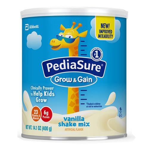 SữaPediasure Grow & Gain dành riêng cho trẻ biếng ăn, chậm tăng cân