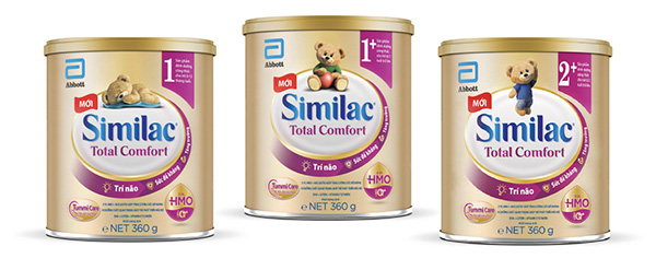 Dòng sữa Similac Eye-Q & HMO giúp hỗ trợ hệ tiêu hóa và phát triển trí não toàn diện