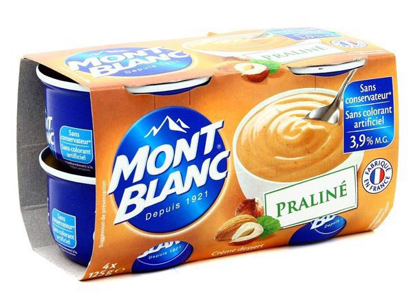 Váng sữa Montblanc