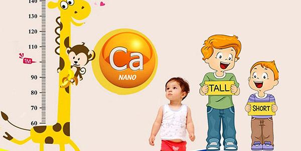 Canxi là dưỡng chất quan trọng với trẻ nhỏ