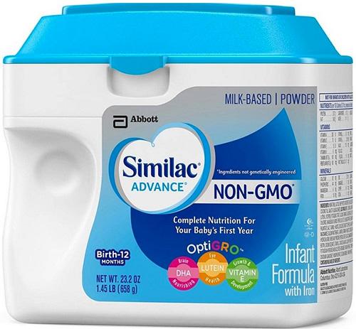 Sữa Similac là sản phẩm hiếm có chứa thành phần OptiGrow