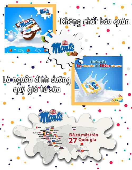 Lợi ích của váng sữa Monte với trẻ nhỏ?