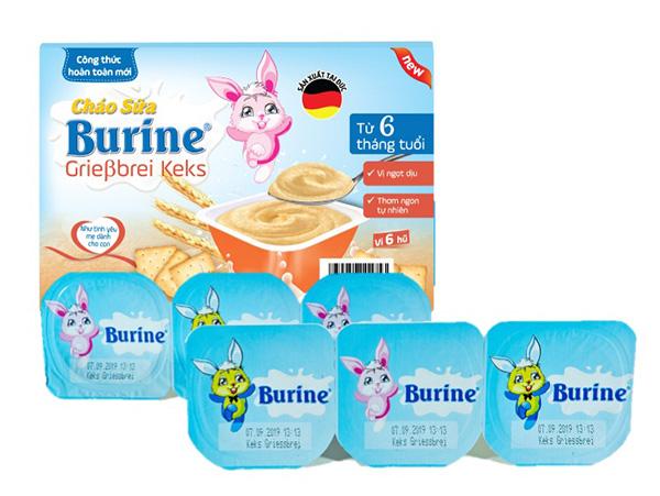 Váng sữa Burine được làm từ nguyên liệu sữa tươi ngon trên một quy trình an toàn tuyệt đối