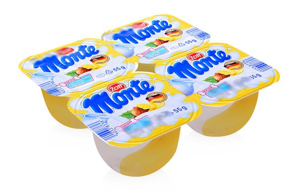 Váng sữa Monte của Đức được sản xuất bởi Công ty Zott CHLB Đức